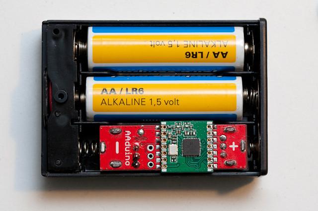 还能小!Arduino电路板大小接近5号电池