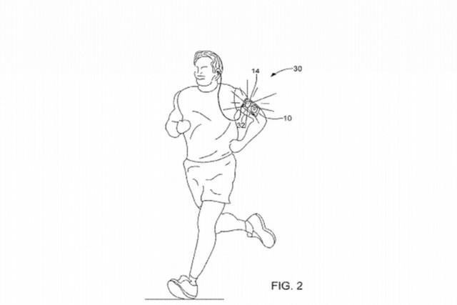 苹果设想用iPhone背光提升夜跑的安全性