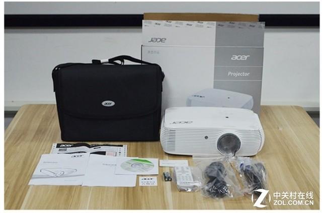 宏碁3400流明1080P高清投影机H6512BD促