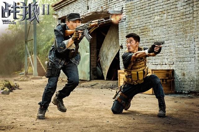 《战狼2》票房破56亿 冲进全球年度前五
