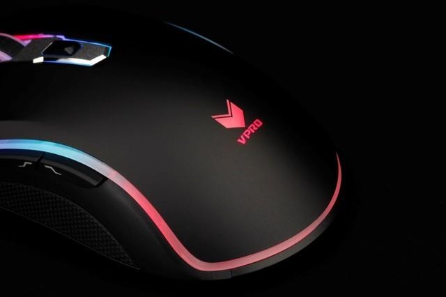 高性能高颜值 雷柏V25PRO幻彩游戏鼠标图赏