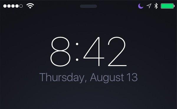 iphone锁屏界面可以做得更好!比如这样_苹果新闻图片