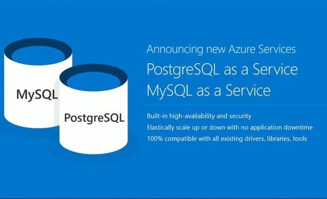 你被强化了Azure 微软发布新数据库帮忙