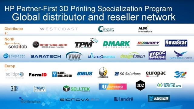 全面进军 惠普宣布全球3D打印营销计划