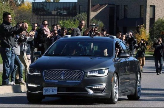 黑莓告别手机转战自动驾驶 目前已上路