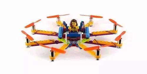陪孩子成长 乐高推出Flybrix积木无人机