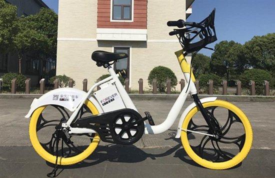 """移动""""充电宝"""" 上海永久推出智能单车"""
