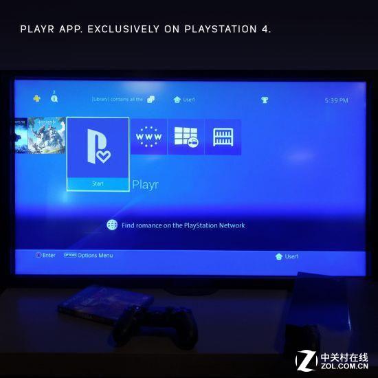 索尼PS4约会软件堪比陌陌:轻松约!