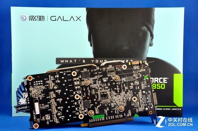 影驰GTX 950 黑将显卡京东热售1199元