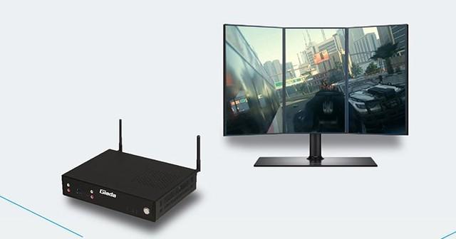 杰和4K高清商显终端  小屏幕里的大片风采