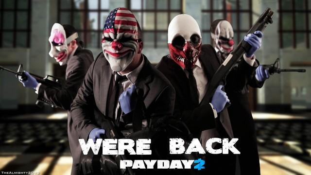 《收获日2(Payday2)》VR模式公布