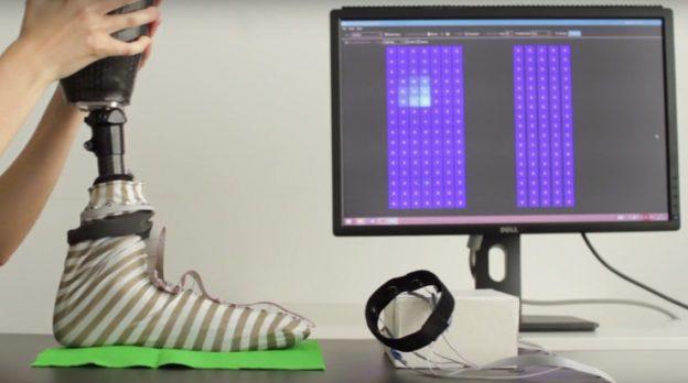 这是一双神奇的袜子 让假肢也有知觉