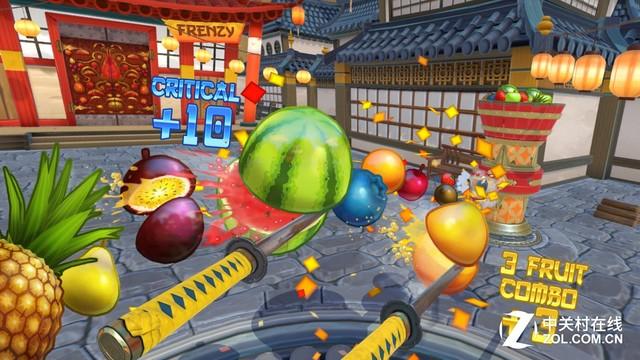 《水果忍者》VR版 经典再现玩法更多