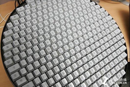布满汉字 老外眼里的中国键盘竟是这样