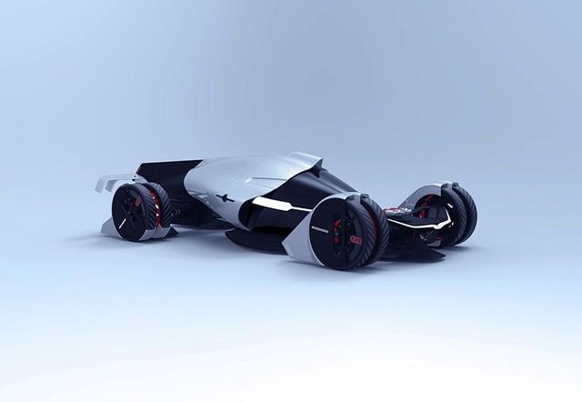 特斯拉T1概念车 剑指勒芒24小时耐力赛