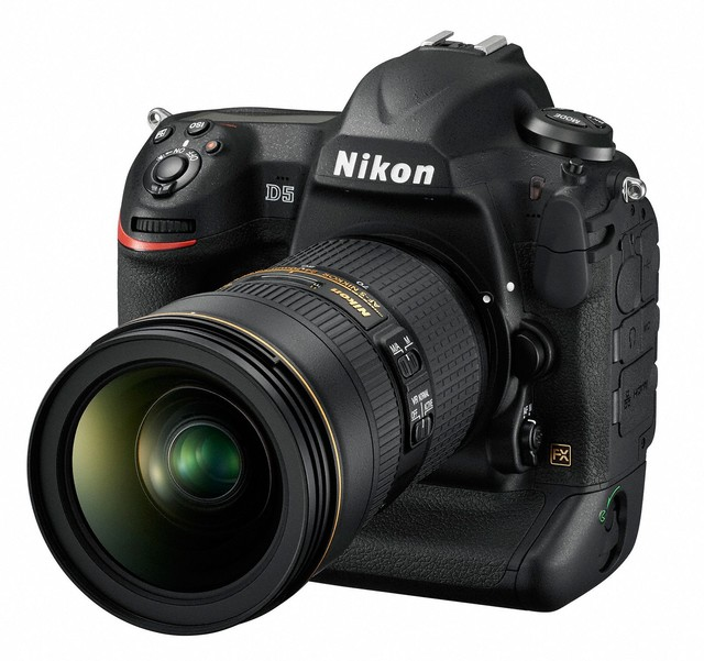 尼康D5和D500单反相机获 红点奖:2016产品设计奖