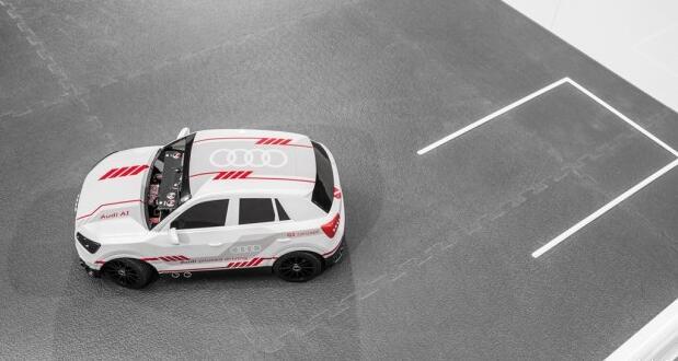 装载黑科技 奥迪q2自动驾驶模型车官图_汽车科技新闻