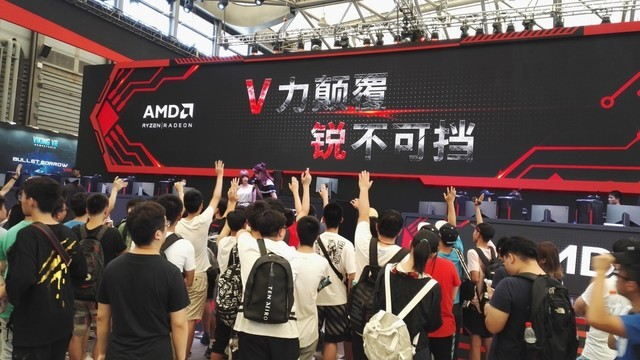 V力铰翻 锐不成挡 AMD全芯反击CJ2017