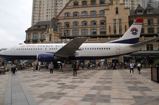 揭秘武汉的真实飞机餐厅