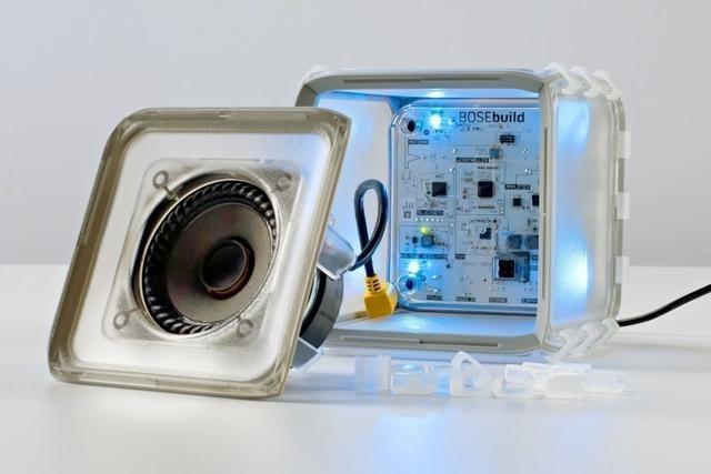 Bose推出一款能组装的无线蓝牙音箱 能教孩子很多知识?