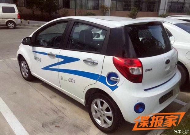 今年9月上市 江淮iEV6E纯电动车谍照(图片来自汽车之家)-或今年高清图片