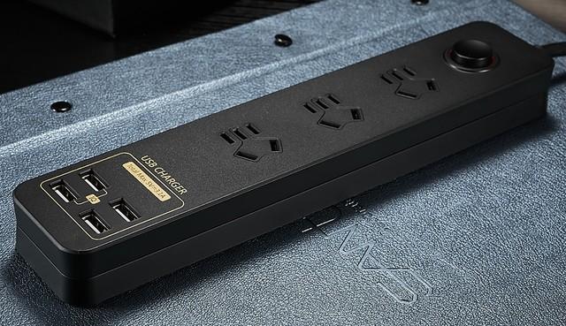 领券减20 航嘉高颜值USB插座天猫大促
