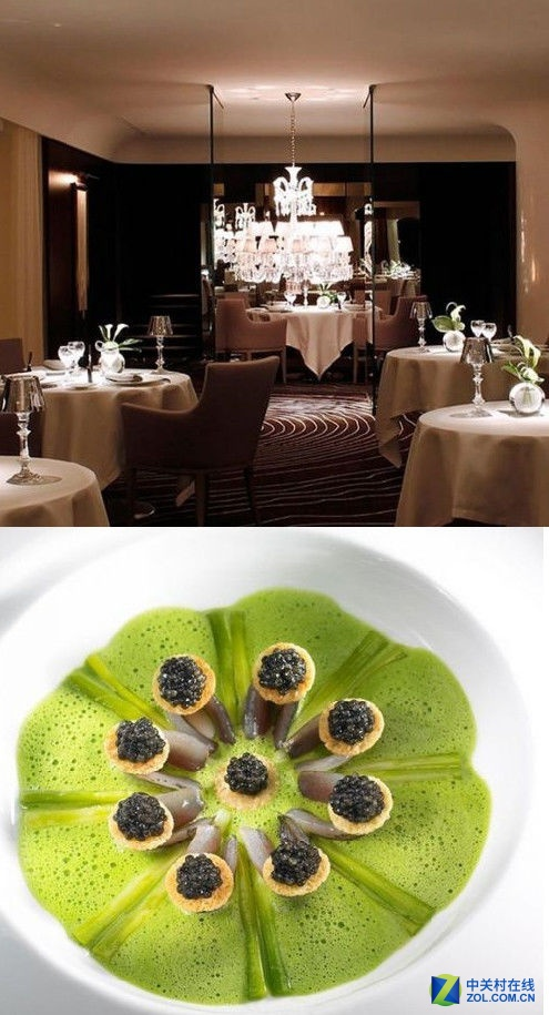 最贵人均12500元 全球最奢侈的10家餐厅
