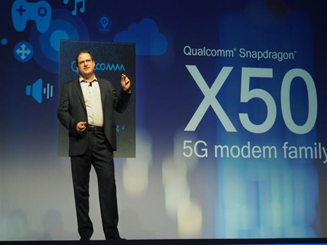 高通发布5G基带X50:理论最高速率达5Gbps