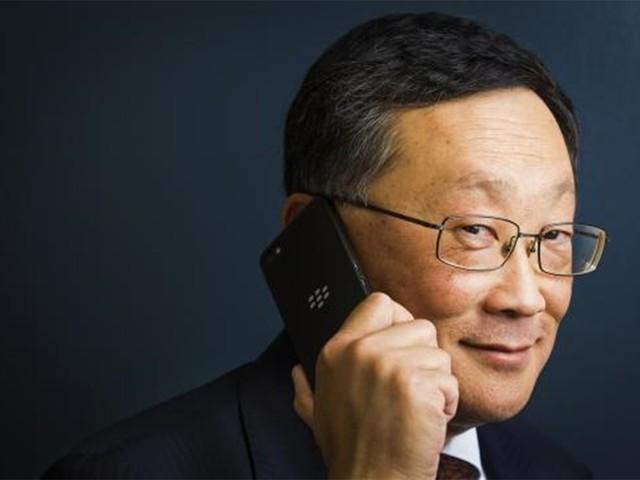 黑莓CEO再谈公司转型:已脱离危险境地