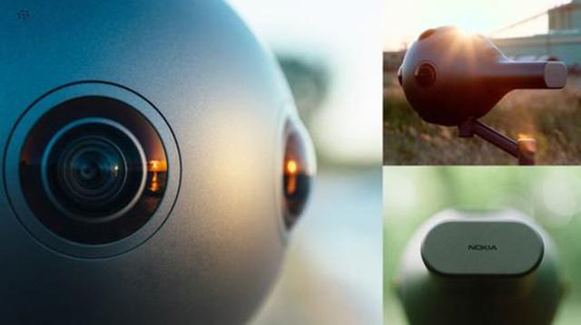 诺基亚8摄像头VR摄像机OZO上市:售30万