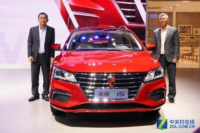 全球首款纯电动休旅车 荣威Ei5首秀