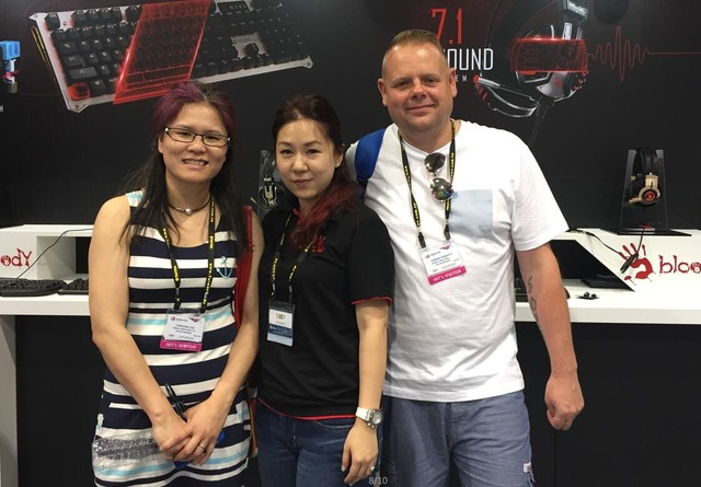 国产实力派  双飞燕2016台北电脑展回顾