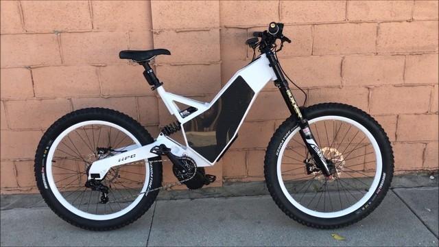 时速97公里 这真的是一台电动自行车