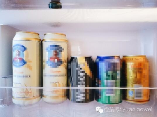 仔细端详一枚已婚美少女的冰箱里藏了啥