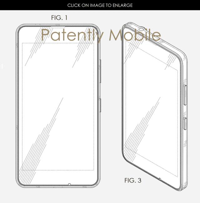 微软新专利图泄露Surface Phone外形