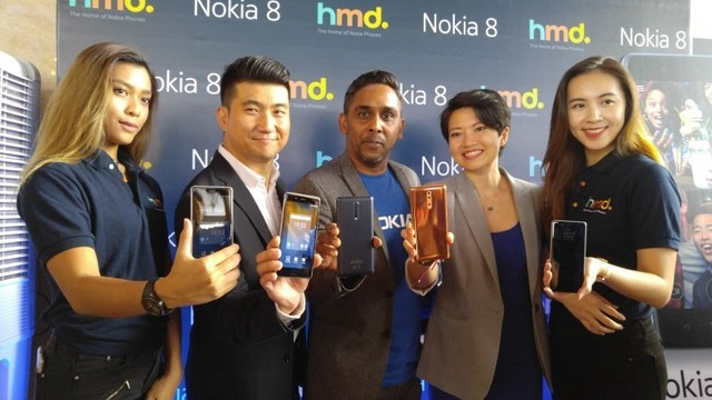 诺基亚8马来西亚售3552元 史上最便宜