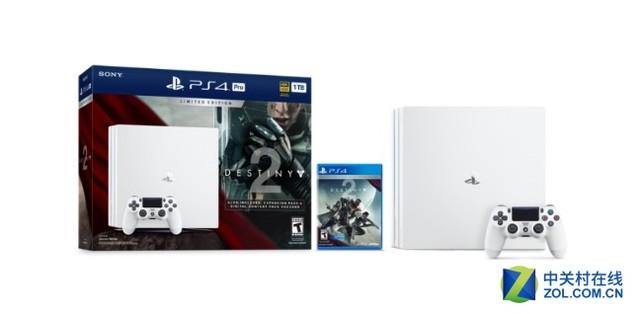 索尼PS4 Pro白色版首发:同捆《命运2》卖3061元