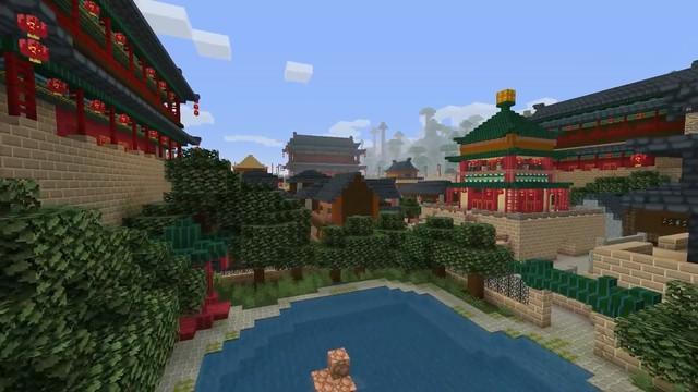 《我的世界》官方制作中国神话DLC上线