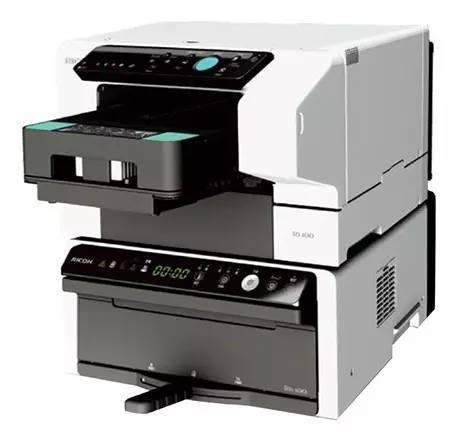 理光数码印刷 Ri100开拓棉纺直喷市场