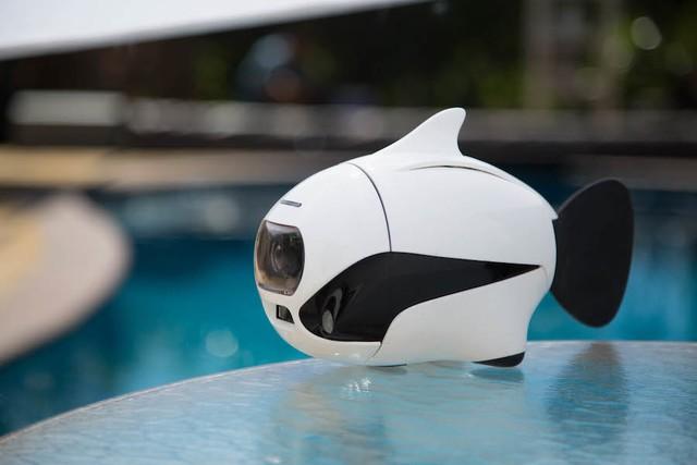 60米深度潜水航拍:仿生鱼BIKI无人机
