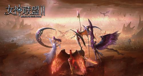 视觉封神 《女神联盟II》登场倒计时