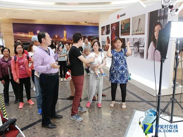 HUAWEI P10北京站首日线下体验爆棚