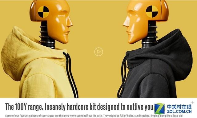 vollebak设计了一款能穿100年的奇葩衣服!图片