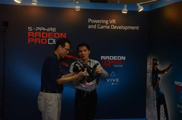 畅行VR设备 蓝宝石参展COMPUTEX 2016