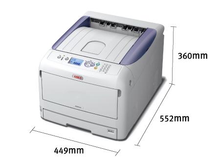 OKI C831dn 轻松料理A3设计图纸打印