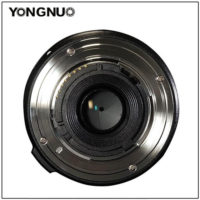 永诺发布两枚新镜 新出40mm f/2.8饼干头