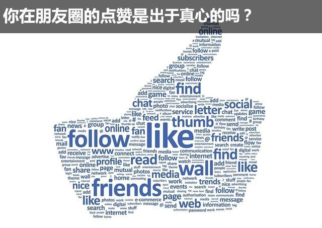 聊斋:你在朋友圈的点赞是出于真心吗?
