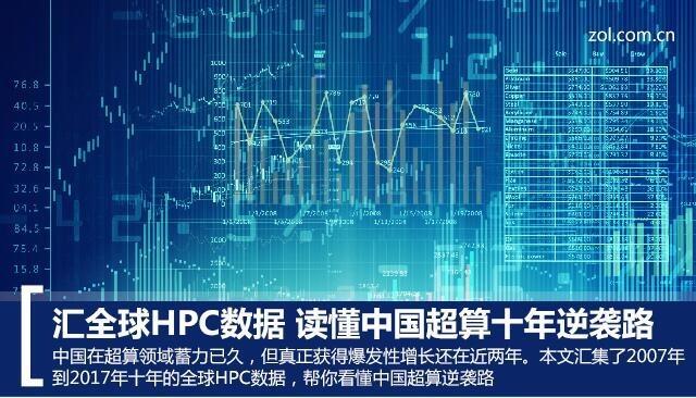 汇全球HPC数据 读懂中国超算十年逆袭之路