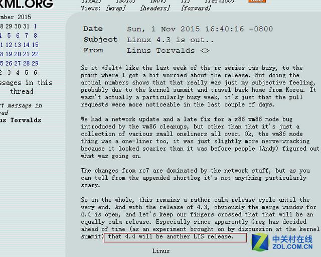 Linux4.3发布!默认Skylake九代核显