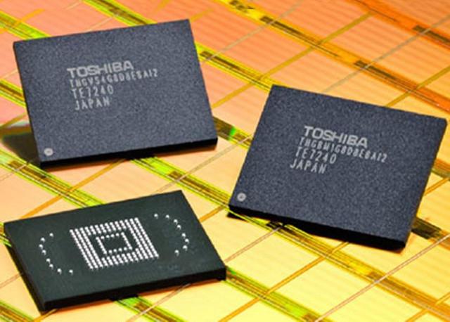 紫光或将买下东芝和SanDisk的闪存技术